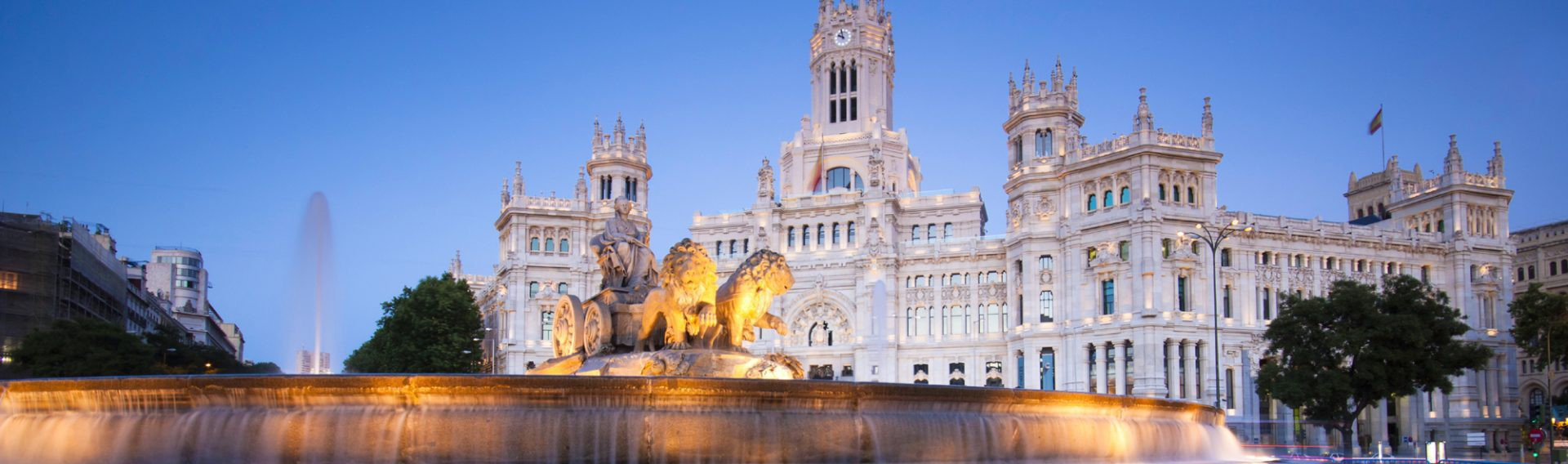 Plaza de Cibeles, Madrid, Spain