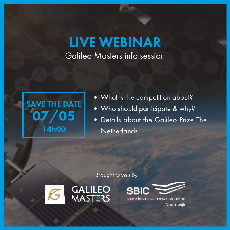 Galileo Masters Prize The Netherlands Webinar
